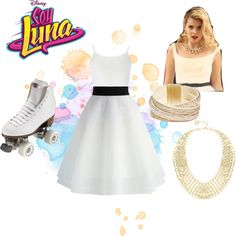 A fashion look from August 2016 featuring Dorothy Perkins tops, Chicwish skirts e GUESS bracelets. Browse and shop related looks. Luna Fashion, Fashion Looks, Ambre Soy Luna, Ambre Smith, Disney Channel, Chicwish Skirt, Son Luna, Inspirational Celebrities, Disney Outfits