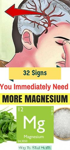 33 Signs You Immediately Need More Magnesium, & How To Get It...!!! - Way to Steal Healthy