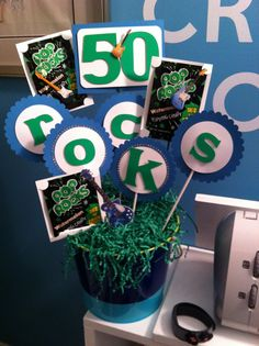 50 Rocks bouquet