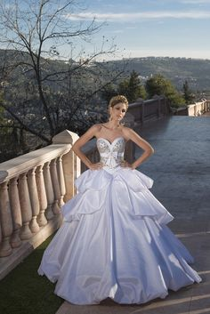 Oved Cohen Bridal 2014 // Love a lavender wedding gown. So classy and pretty!