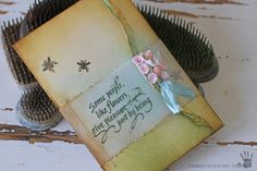 Guest Designer Tammy Tutterow - Some People, Like flowers
