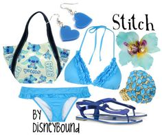 lilo and stitch | Disney Bound swimming gear