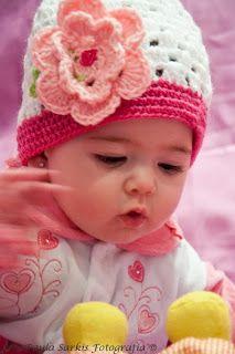 Sapatinhos Para Bebê - Life Baby: Passo a Passo Touca para Bebê em crochê