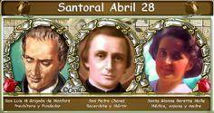 Vidas Santas: Santoral Abril 28