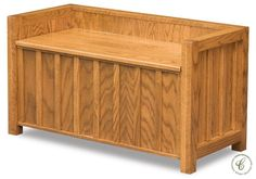 Sure to complement your decor, our Sierra Entryway Bench makes a significant statement in a foyer or sunroom, living room or elsewhere around the house.