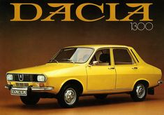 Renault 12 – Dacia 1300 - Cars and motor Bmw Isetta, Chevy Impala, Retro Cars, Vintage Cars, Europe Car, Automobile, Beast From The East, Import Cars, Car Posters