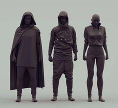ArtStation - Costume Design for NONE, by Alex Figini