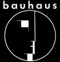 Bauhaus band logo based on the 1930's art movement.