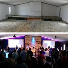 Church Renovation / Sanctuary Before + After / 7thhouseontheleft.com