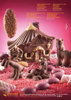"""Stampo Casetta delle Fate Per compleanni o feste dei bambini, decosil propone lo stampo """"Casetta delle Fate"""": uno stampo da utilizzare per la decorazione di torte. www.decosil.it"""