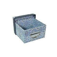 Caixa Organizadora 22x22x15cm Box House - Azulejo Português - Limpeza e Arrumação - Magazine Luiza