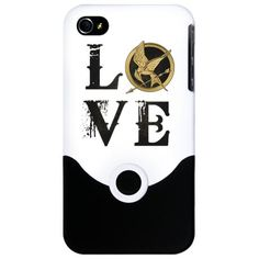 Vintage Love Hunger Games [b] iPhone Case: I love this iphone case! <3