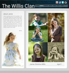 The Willis Clan - child #9 Jamie Christine, 9:  vocals, is learning several instruments and is studying dance.