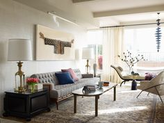 A Dramatic Manhattan Penthouse Transformation by Wesley Moon