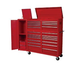 Professional Series 25 Drawer Heavy Duty 71 Tool Cabinet Chest Side Locker