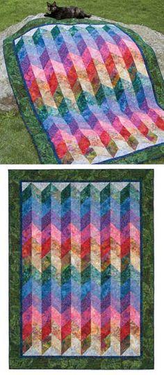 Corrugated Bali Quilt