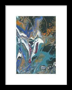 Acrylic Pour 4 Frame