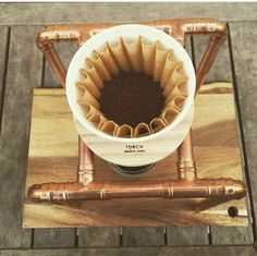 Copper Pour-Over/Drip Coffee Stand