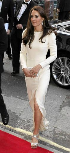 I adore the dress and the woman wearing it