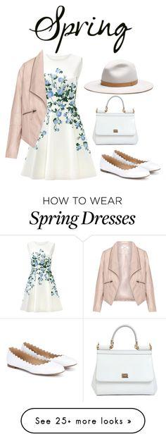 """Spring"" by ausra-veronika on Polyvore featuring ERIN Erin Fetherston, Zizzi, Dolce&Gabbana, Chloé and rag & bone"