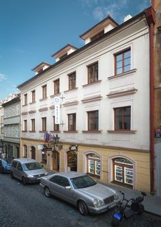 Little Quarter is located in Nerudova street, directly on the famous Royal Route, which winds through the heart of the historical centre of Prague. Hostel, Prague, Entrance, Street, Entryway, Roads, Doorway, Entrance Hall