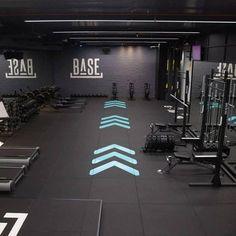 Congratulations to BASE Bangkok on being awarded Fitness Best's Gym of the Y. - OfficeSteezo - Home Gym Home Gym Garage, Gym Room At Home, Basement Gym, Home Gyms, Gym Setup, Gym Center, Gym Facilities, Gym Interior, Home Gym Design