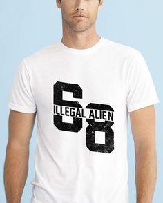 https://www.navdari.com/products-m00200-ILLEGALALIENDESIGNTSHIRT.html #ILLEGALALIEN68 #ILLEGAL #TSHIRT #CLOTHING #Men #NAVDARI #alien #illegalalien