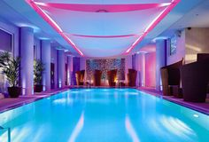 Indoor Swimming pool..love this.