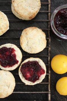 Recipe: Sage + Meyer Lemon Biscuits