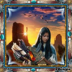 native american digital art night | native Picture #135679455 | Blingee.com
