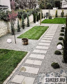 Stepping Stones, Sidewalk, Outdoor Decor, Modern, Instagram, Home Decor, Stair Risers, Trendy Tree, Decoration Home