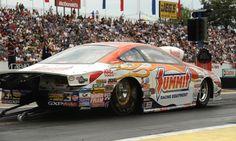 K & N Summit Racing Pro Stock Drag Car