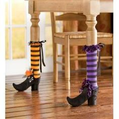 Set of 2 Halloween Chair And Table Leg Covers Buy 2 or more Sets at $12.95 each