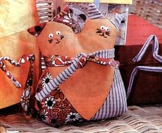 How to sew a cat-lovebirds with their hands / Master Class
