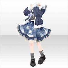 秋空のビエント|@games -アットゲームズ- Manga Clothes, Drawing Anime Clothes, Dress Drawing, Model Outfits, Girl Outfits, Cute Outfits, Anime Dress, Star Girl, Anime Costumes
