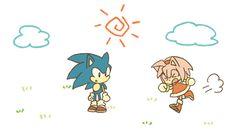 Hahahaha! Run, Sonic, RUN! XD