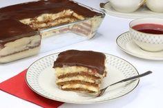 Oblíbený banánový koláč s čokoládovou polevou, který se na vašem stole příliš neohřeje