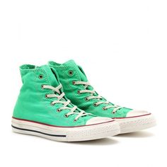 Converse Chuck Taylor Well Worn All Star High-Tops ($127) ❤ liked on Polyvore
