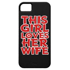 This Girl Loves Her Wife - Phone case iPhone 5 Cases
