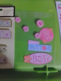 Girlie stickers & embellishments