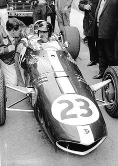 DAN GURNEY EAGLE T1G F1 WESLAKE PHOTOGRAPH FOTO MONACO GRAND PRIX 1967