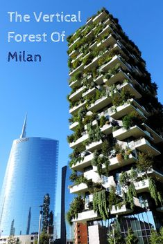 Architecture Highlights: The Vertical Forest Of Milan