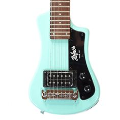 Hofner CT Shorty Travel Guitar - Limited Edition Surf Green