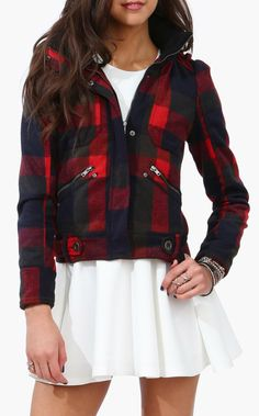 Love this jacket....Boon Plaid Jacket