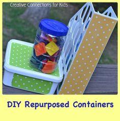 DIY Repurposed Containers