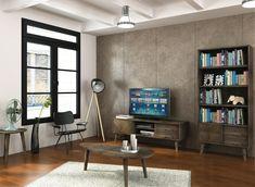 Masa de cafea din lemn de salcam, Ashton L06 #homedecor #interiordesign #inspiration #interior #homedeco #livingroomdecor #livingroom Minimalism, Bookcase, Shabby Chic, Living Modern, Shelves, Interior, Design, Home Decor, Products