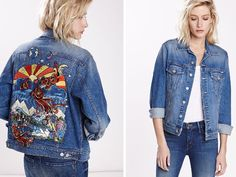 Make a Psychedelic Statement with This Retro Embroidered Jacket