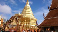 Chiangmai wat phrathat doi suthep