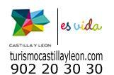 Bravo por el nuevo logo de turismo de castilla y León. Combina la forma de la comunidad autónoma con el estilo del MUSAC y sus cristales de colores.