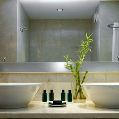 Decorate your bathroom according to feng shui to get an easy flow of money and prosperity in your home. Get these feng shui tips for your home. Best Bathroom Plants, Bamboo Bathroom, Bathroom Red, Modern Bathroom, Small Bathroom, Bathroom Ideas, Country Style Bathrooms, Rustic Bathrooms, Chic Bathrooms